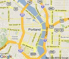 map of oregon portland maps of dallas portland maps