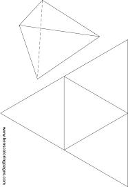 5 best images of rectangular pyramid net printable rectangular