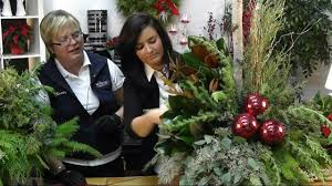 Christmas Decorations For Outdoor Containers by Decorating A Christmas Urn Youtube