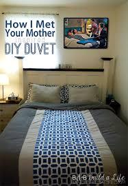 Duvet Cover Diy The Story Of How I Met Your Mother U0027s Duvet U2013 A Diy Duvet Cover