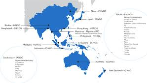 Asia Pacific Map by How To Become A U0027clued In U0027 Engineer Apnic Blog
