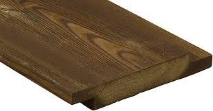 Shiplap Wood Cladding Kebony Character 90 Shiplap Cladding 13 16 X 5 7 8 In Kebony