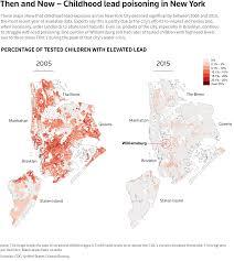 Brooklyn College Map Special Report Despite Progress Lead Hazards Vex New York