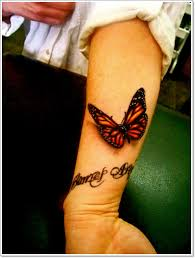 3d tribal butterfly shoulder meaning tattoos for design