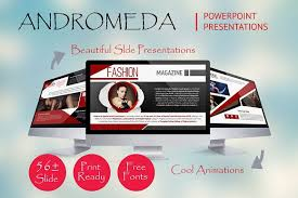 andromeda magazine presentations presentation templates