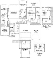 3 Bedroom Floor Plans With Bonus Room by The Monterrey With Bonus