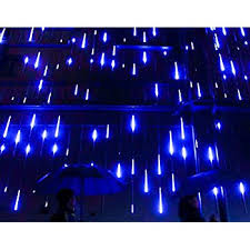 omgai waterproof meteor shower lights 30cm 8