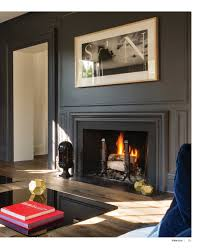 Simple Fireplace Designs by Charcoal Gray Eggshell Sheen Contrast To Ivory Flat Sheen