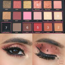 Henna Eye Makeup Huda Eyeshadow 18 Color Latest Fashion 11street Malaysia Eyeshadow