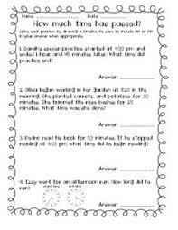 elapsed time worksheets 4th grade elapsed time word problems worksheets mediafoxstudio