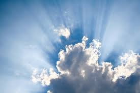 sun shining through clouds stock photo image of clouds 4739150