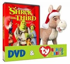 shrek screen dvd u0026 ty beanie babies