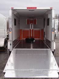 V Nose Enclosed Trailer Cabinets by Deluxe V Nose Cargo Legend