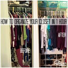 how to organise your closet de junk challenge how to organize your closets in an hour or less