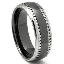 matte black mens wedding bands wedding rings tungsten vs matte black tungsten wedding