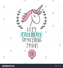Baby Shower Invitations Cards Designs Happy Birthday Card Unicorn Baby Shower Stock Vector 383575930