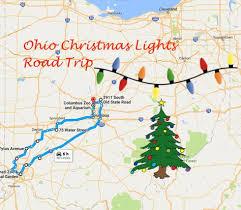 drive through christmas lights ohio the christmas lights road trip through ohio that s nothing short of
