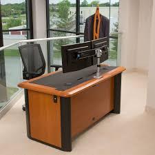 Computer Desk For Two Monitors Computer Desk Two Monitors Inspirational Computer Desk For Two