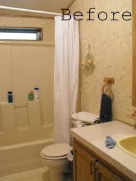 How To Remodel A Small Bathroom Before And After Small Bathroom Makeovers Before And After