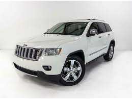 2011 jeep grand white 2011 jeep grand overland for sale