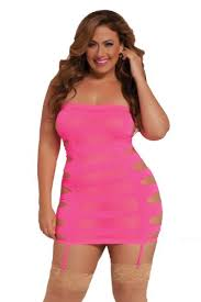 fashion bug womens seamless slash side tube dress plus www