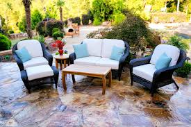 Canvas Outdoor Chairs Tortuga Outdoor Lexington Wicker 6 Piece Deep Seating Loveseat Set