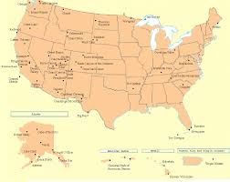 parks map map of all the national parks