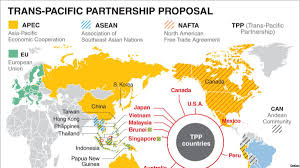 Tpp Map World Bank Sees Vietnam As U0027winner U0027 From Tpp