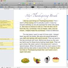 Thanksgiving Writing Pages 5th Grade Thanksgiving Writing U2013 Elementary Technology Lessons