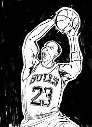 michael jordan coloring page qlyview com