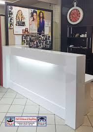 Commercial Reception Desks by Salon Counter Archives Reception Counters