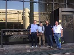 sede regione emilia romagna finale emilia il sindaco palazzi incontra la struttura