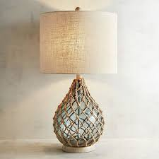 Teardrop Floor Lamp And Sea Glass Table Lamp Pier 1 Imports