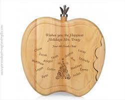 engraved cheese board engraved cheese boards apple shaped appreciation