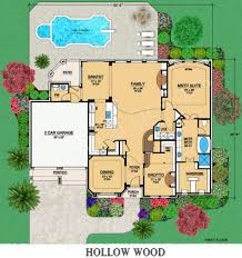 hollow wood traditional house plans luxury house plans