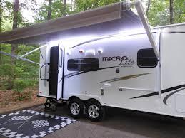 travel trailer led lights micro lite 21fbrs travel trailer 2015 youtube