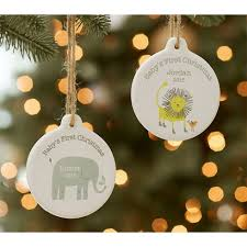 buy baby u0027s first christmas ornaments online find lenox waterford