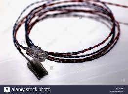plug wire color lan stock photo royalty free image 136634056 alamy