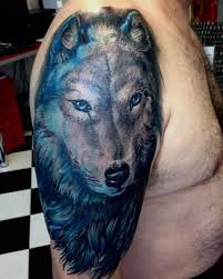 lovely lone wolf tattoos in different styles 2018