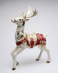 reindeer figurines princess decor