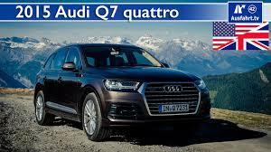 Audi Q7 Diesel - 2015 audi q7 3 0 tdi quattro tiptronic test test drive and in