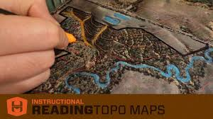 How To Read A Topo Map How To Read 3d Topo Maps Draws And Spurs Youtube
