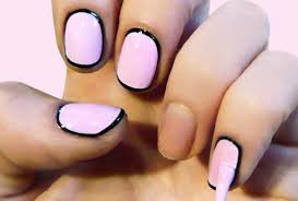 retro glamorous nail art tutorial teen vogue
