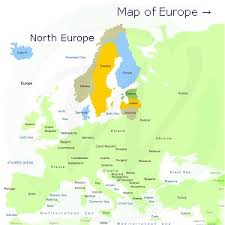 map of n europe discover europe