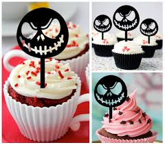 nightmare before christmas cupcake toppers ca425 new arrival 10 pcs decorations cupcake topper nightmare