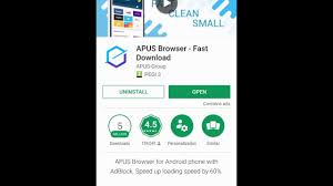 fast downloader for android apus browser fast for android a complete review