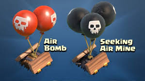 Seeking Balloon Clash Of Clans Cheats Top Tips For Air Bombs Air Mines Heavy