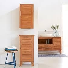 Teak Wood Bathroom Teak Bathroom Furniture For Natural Home Design Ideas
