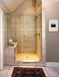 bathroom glass door cleaning simply using a squeegee after you