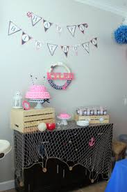 Girls Nautical Bedroom 223 Best Anchor Baby Shower Images On Pinterest Nautical